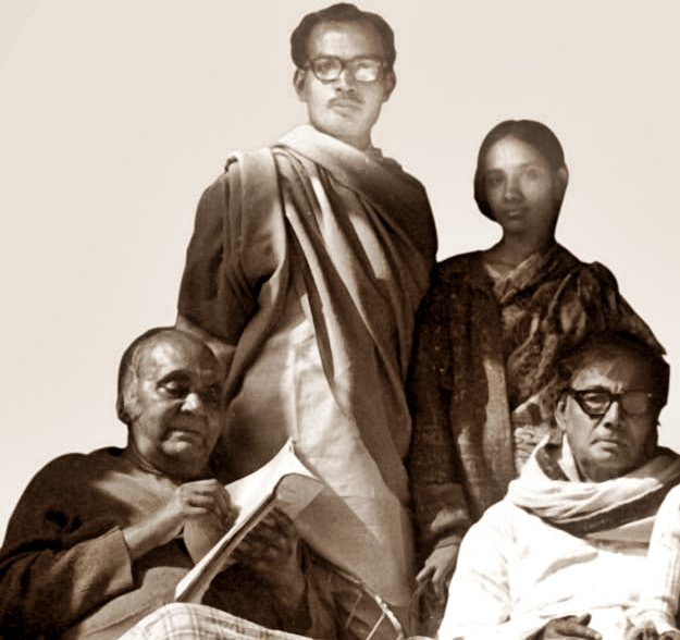 kazi nazrul and jasim uddin 1974