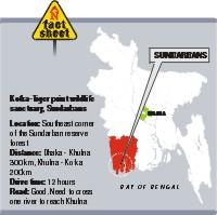location of sunderbans
