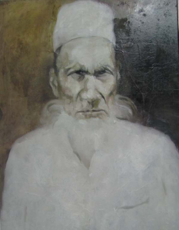 anser uddin oil paint by wakilur rahman