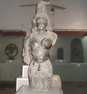 A 7th century statute of Ardho Nari Iswar, one of the 24 rare Bengal treasures