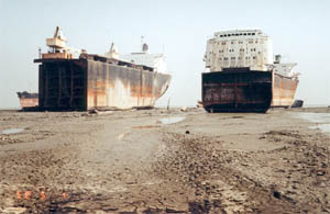ship wrecking