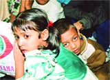 .Thirty-six Bangladeshi children, subjected to inhuman treatment while being used as camel jockeys