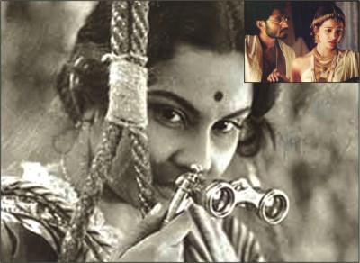 stils from Charulata and Chokher Bali