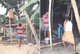 Deep tubewell- arsenic -but our shallow well arsenic free - Faridpur