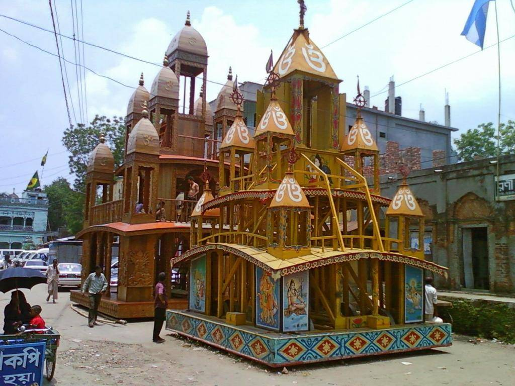 chariot of dhamrai