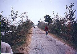 embakment - now road