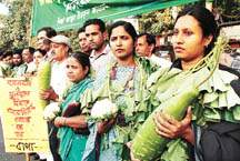 Protest rally against agrochemicals