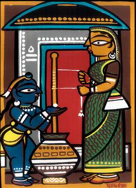 gazir pot by jamini roy