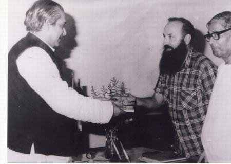 mujib and father regan