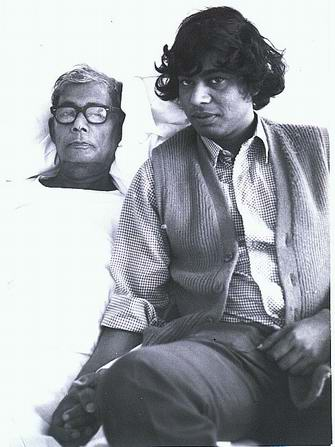 jasimuddin ,son bashu at hospital kiel, germany 1973