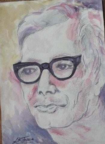 painted by Prof. Sandip Tagore