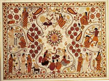 Nakshi katha by Suraya-jasimuddin