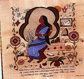 emboroidered quilt