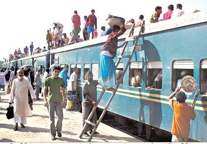 rail journey in bangladesh