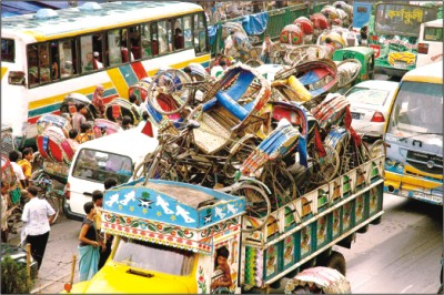 seized rickshaws