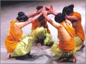 santal dance drama