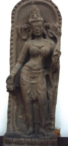 Shyama Tara, sand stone structure from the 10th century AD, Munsiganj