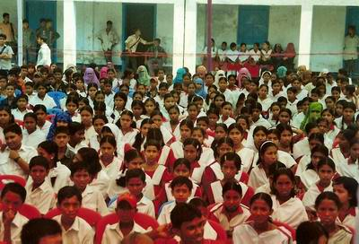 students of ansauddin high school