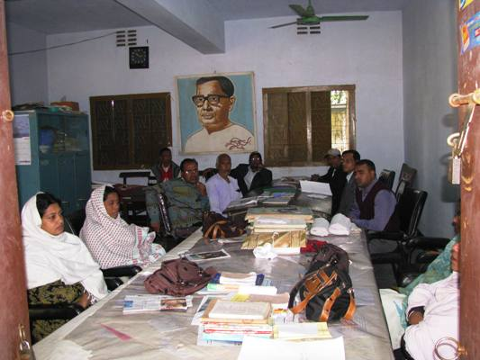 teachers of anser uddin, March 2010