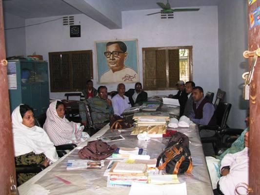 teachers of anser uddin, March 2010