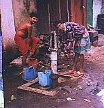 Behala,India using arsenic contaminated water