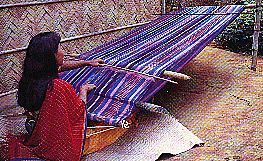 traditional weaver - a dyeing profession