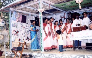 A Women Center has been opened at Ambikapur, Faridpur on March 14. 2004.