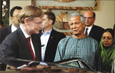 yunus and WB president
